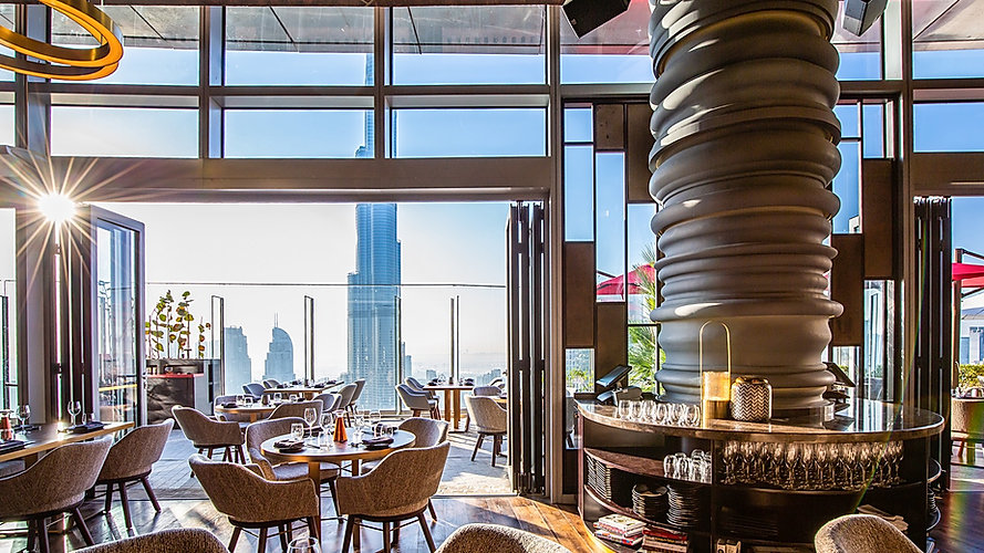 Dubai Best Restaurant & Lounge CÉ LA VI Dubai Photos, Videos, information, Location, Table price visit clubbingdubai.com