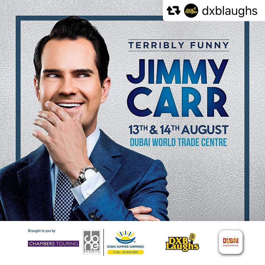 JIMMY CARR LIVE IN DUBAI - DAY 2
