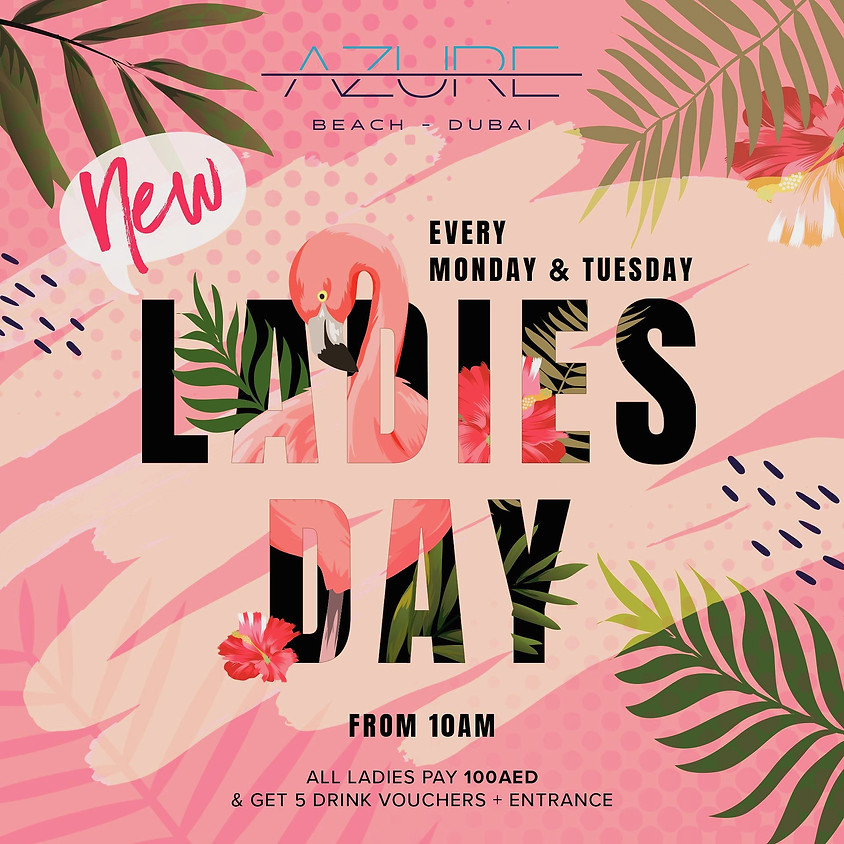 AZURE BEACH DUBAI LADIES DAY