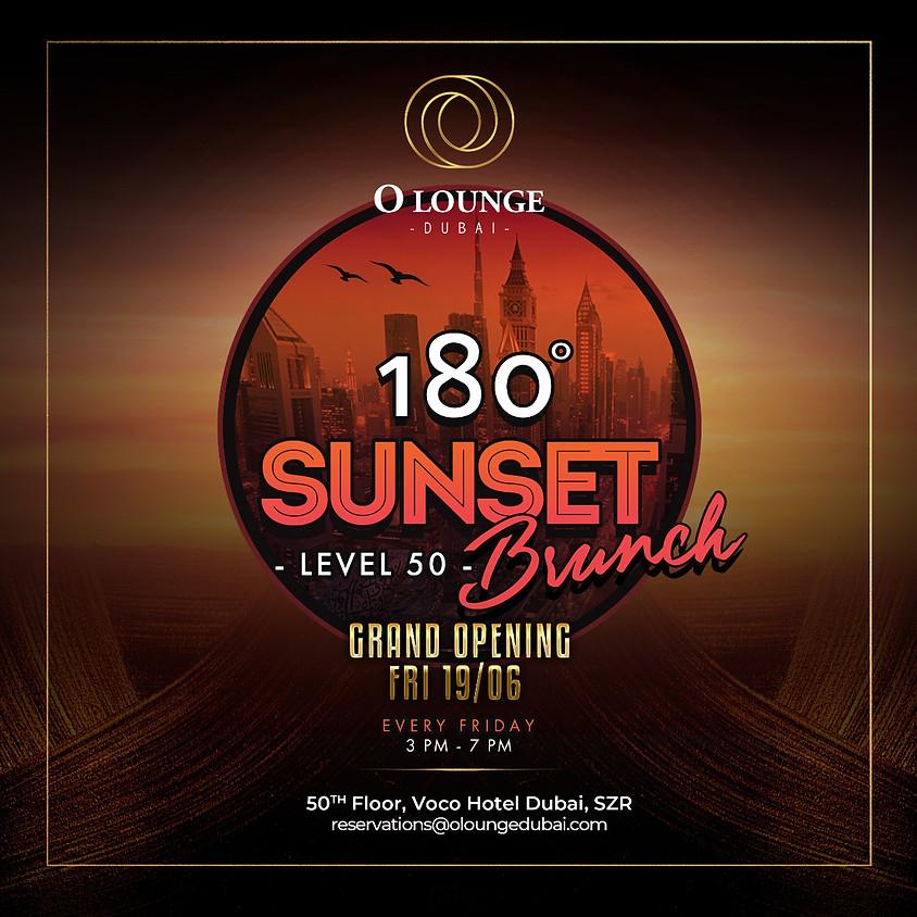 180° SUNSET BRUNCH