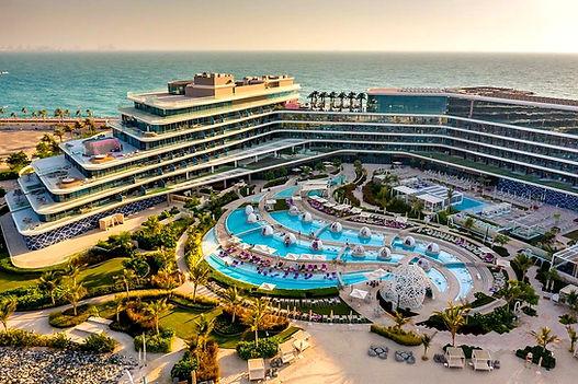 Dubai Best Beach club Wet Deck W Palm Dubai Photos, Videos, information, Location, Table price visit clubbingdubai.com.
