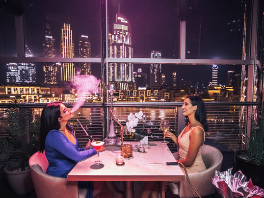 Welcome to 3BK Burj khalifa , the most fashionable ladies night in Downtown Dubai