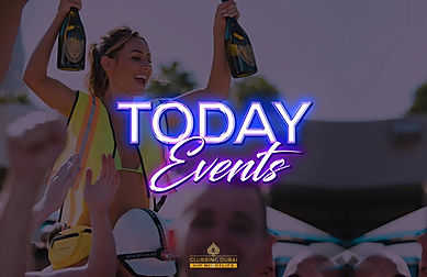 Clubbing Dubai bring you the best of Dubai Ladies Night - Club Night Dubai - Beach Club Dubai - Lounges in Dubai - Dubai at Night - Dubai Yacht party  and More. Visit Tonight Events or Today Events for details