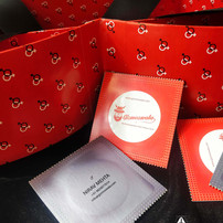 Gizmoswala - Condom shaped Business card