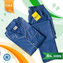 Male Nightwear - Republic Day Sale Promo