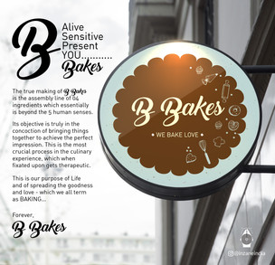 B Bakes Brand Identity