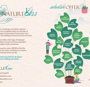 Nature Bliss - Print Ad Design