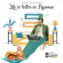 Life is better in Pyjamas - Promotional