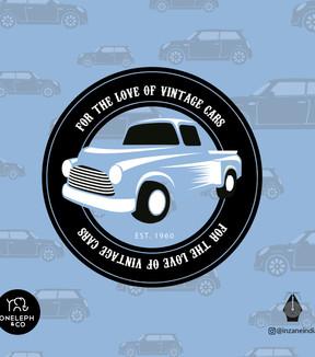 Vintage Car Pattern Play