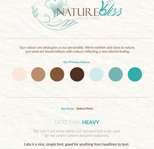 Nature Bliss - Rebranding Journey
