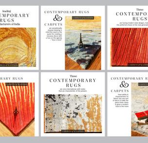COK Contemporary carpets-Instagram grid.