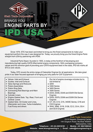 Introducing IPD Parts