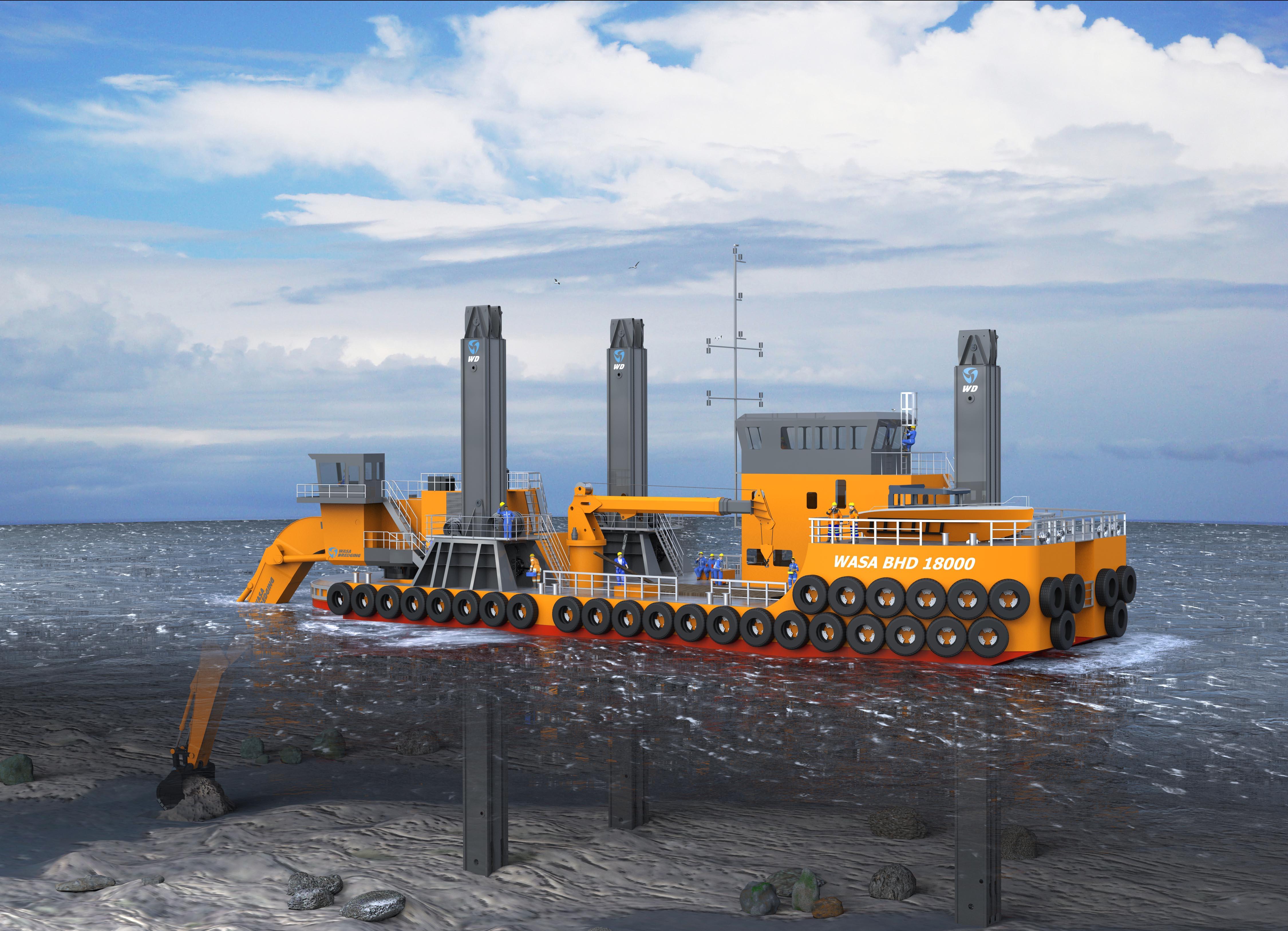 Offshore Dredging