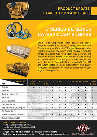Latest Series Engine Gasket Kits