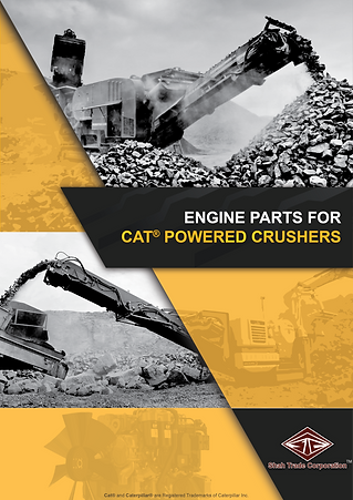 Crusher Engine Parts powered by CAT Inustrial Engines