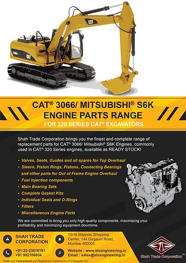 320 Series CAT Excavator