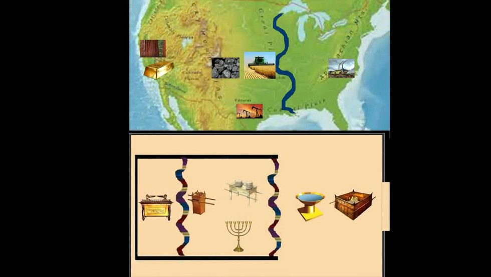 AMERICA IS GEOGRAPHICALLY THE TEMPLE!.mp