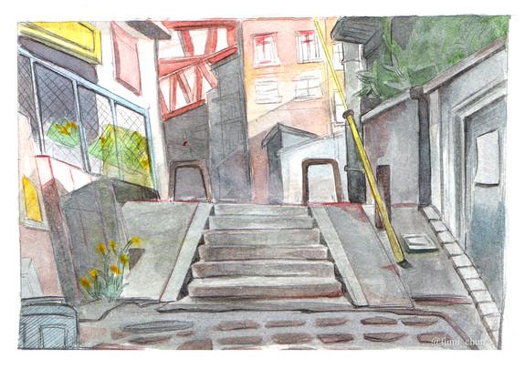Watercolour BG Study