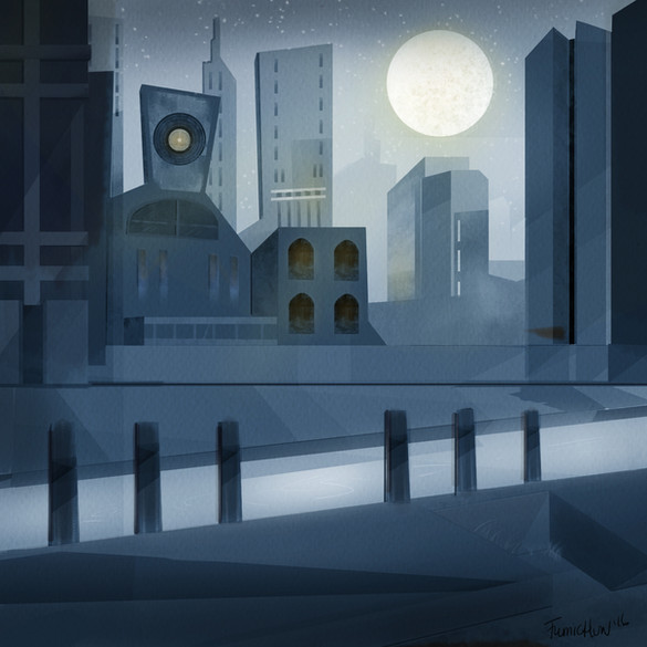 City Scape at Night