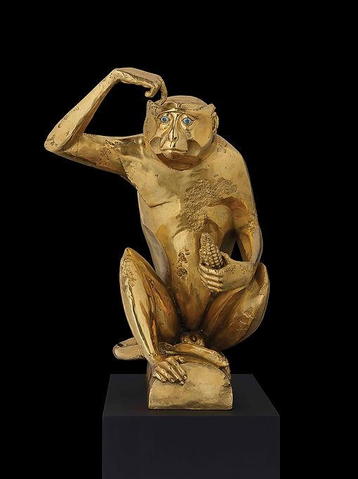 דמיאן הירסט קוף זהב 2011.jpg