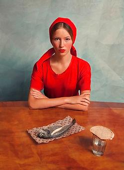 Girl with a fish | Andrey Yakovlev & Lili Aleeva, lumas