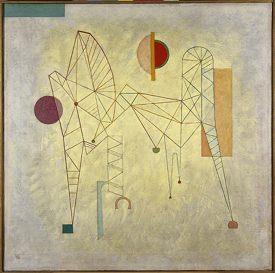 Kandinsky Vassily, All the More, 1933~B9