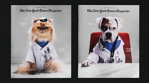שער לניו יורק טיימס – בעלי חיים. צילום: זאק מוליגן וג'סיקה פאטוויי