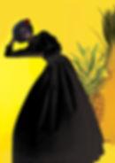 black Dress Yelloowbg