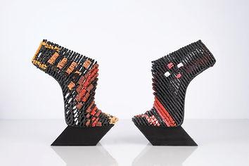 עיצוב של גנית גולדשטיין. מתוך תערוכת נעל