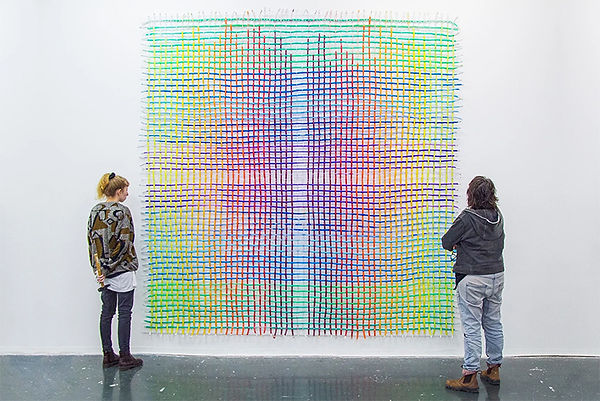 3 - Woven Fresh Paint Tubes - Aviv Grinb