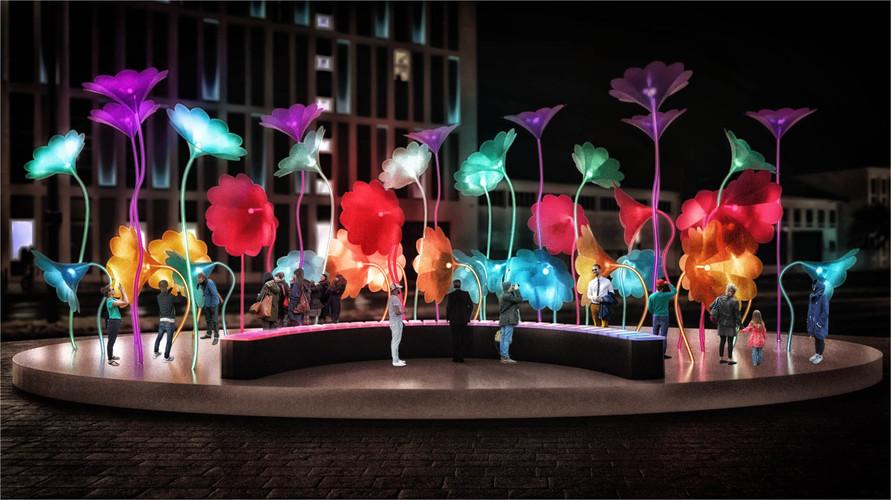 פרחי חצוצרה של אמיגו&אמיגו קרדיט פסטיבל