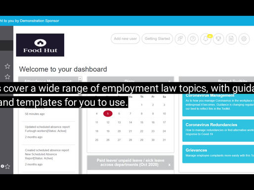 Guidance on HR topics and letter templates in Toolkits