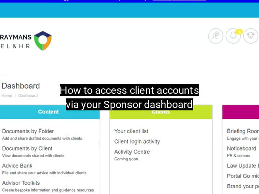 How To: Set up an Advisor access account