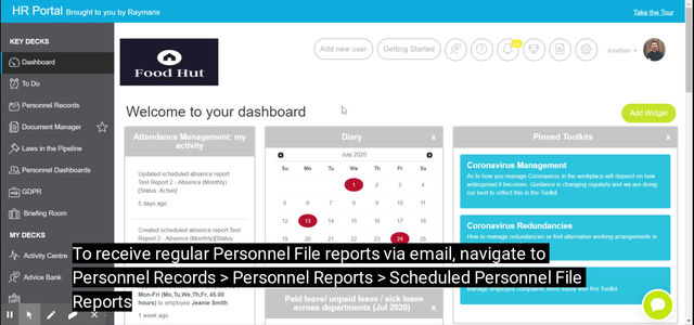 Automate Your Personnel File Reports