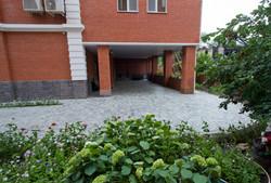 Внутренний двор отеля