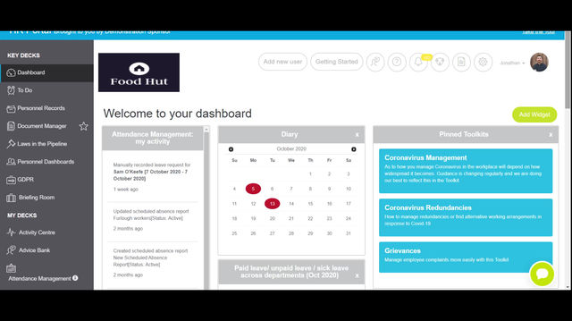 Set up automatic reminders for licencing and training information with Check Points
