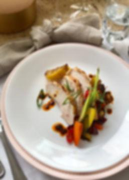 Roast Chicken Breast & Vegetables