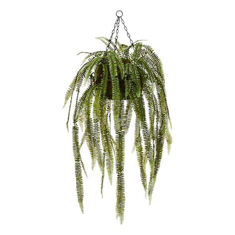 Home Republic Hanging Plant In Basket Fishbone