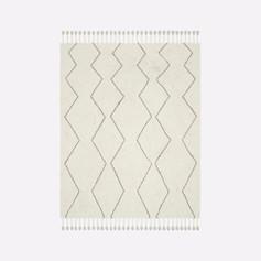 Souk Wool Rug- Natural
