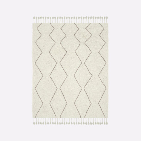 Souk Wool Rug- Natural