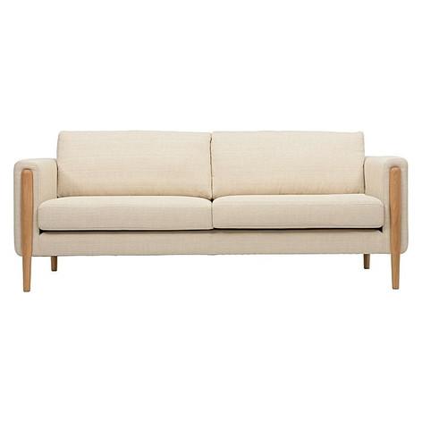 Vick 3 Seater Sofa- Cream