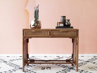 Tuscany Rattan Desk