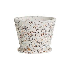 Large Terrazzo Original Pot- White