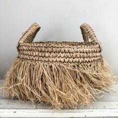 Bora Bora Raffia Baskets