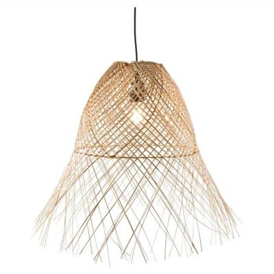Coco Weaved Wicker Pendant Light