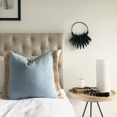 Raw Denim Cushion- Wash