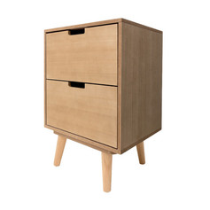 2 Drawer Side Unit