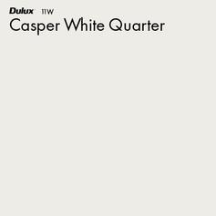 Casper White Quarter