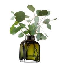 Taffeta Vase- Moss Green