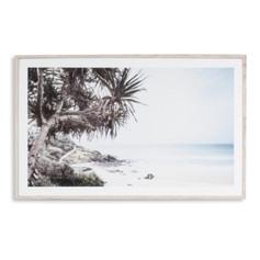 Along The Coast Framed Wall Art Print